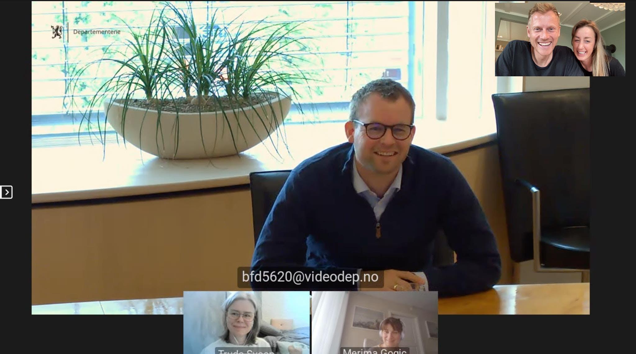 Inspirerende prat med Barne- og familieminister Kjell Ingolf Ropstad